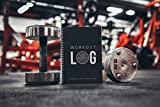 Workout Log Gym - XL A5 Gym, Fitness and Training Diary- Set Goals, Track 100 Workouts and Record Progress - Charcoal Grey Img 1 Zoom