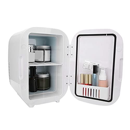 Kudoo Mini Nevera, Mini refrigerador eléctrico de 6L y Warmerini Refrigerador con Cable de conexión para automóvil Enfriador eléctrico portátil para el Cuidado de la Piel/Alimentos/Medicamentos