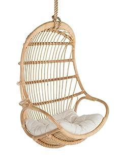 Kouboo Hanging Swing Chair, Large, Natural (B071X65NGD)   Amazon price tracker / tracking, Amazon price history charts, Amazon price watches, Amazon price drop alerts