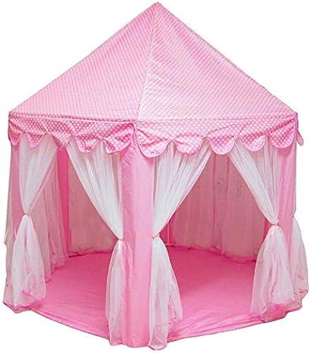 Antennababy Zelt - Prinzessinnen - Schloss Haus der Spiele Spielzeug Real verkauft moskitonetze, In Einem Zelt Rosa