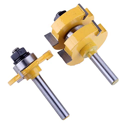H HILABEE T Tenon Type Combine Puzzle Floor Carpentry Milling Cutter