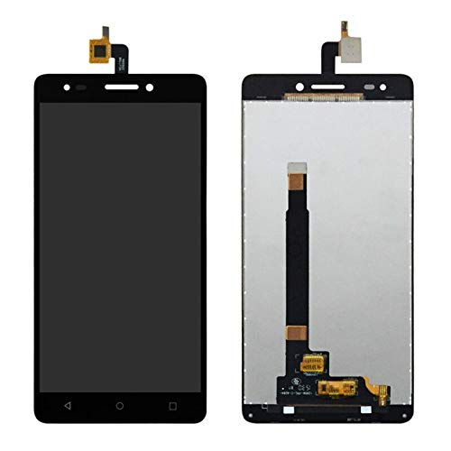 WYFDC Screen Assembled LCD Display Touch Screen Mobile Phone Digitizer Assembly with Frame Fit for BQ M5.5 LCD Replacement LCD Display (Color : Black No Frame)