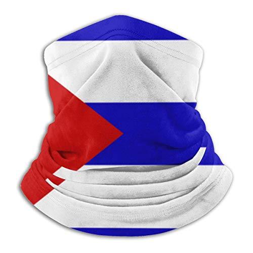 Kuba Flag Nackenwärmer Gaiter Fleece Skimaske Abdeckung für Winter