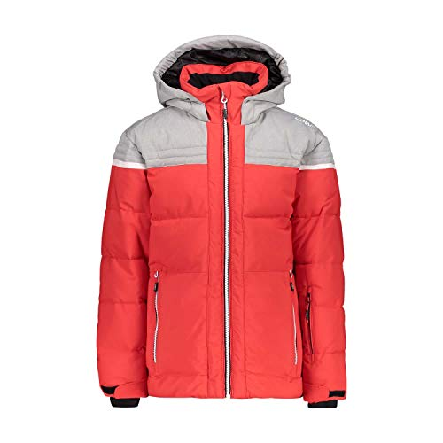 CMP Jungen Skijacke Boy Jacket Fix Hood 39W1904 Ferrari 140
