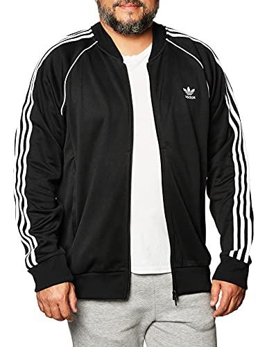 adidas SST TT P Blue Sweatshirt, Hombre, Black/White, L