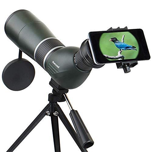 AYDQC Monocularteleskop 12-36X50A / 15-45X60A monokulare Vogelbeobachtung Teleskop Optic Zoomobjektiv Ansicht Okular for Outdoor-Reisen for Vogelbeobachtung ng fengong