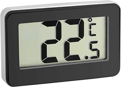 TFA Dostmann digitales Thermometer, schwarz