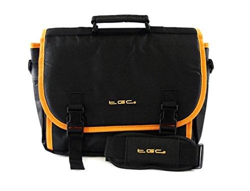 Nieuwe TGC ® Messenger Style TGC gevoerde draagtas voor de Musket PL510 10-inch draagbare dvd-speler