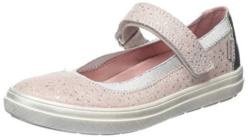 Richter Kinderschuhe Mädchen Ilva Geschlossene Ballerinas, Pink (Potpourri/Silver 1221), 26 EU