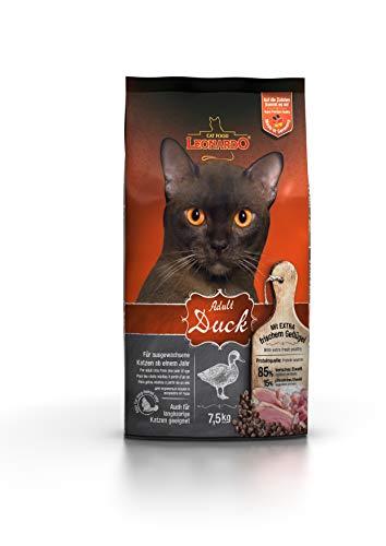 Leonardo Adult Duck [7,5kg] Katzenfutter | Trockenfutter für Katzen | Alleinfuttermittel für ausgewachsene Katzen Aller Rassen ab 1 Jahr