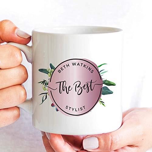 463Opher Stylist mok hair stylist koffie of thee geschenk gepersonaliseerd beste vrouwelijke ontwerp voor een nieuwe hitte