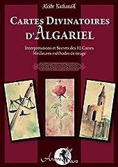 Cartes Divinatoires d'Algariel livre - Interprétations et Secrets des 32 Cartes - Meilleures méthodes de tirage d'Alcide Nathanaël