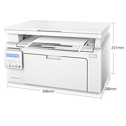 SMGPYDZYP Copieur, imprimante Noir et Blanc, Copy and Scan Machine, Mobile Wireless WiFi Home Small Printer