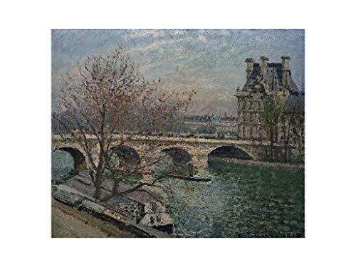 Camille Pissarro - The Pont Royal and the Pavillon de Flore 1903 Print 60x80cm