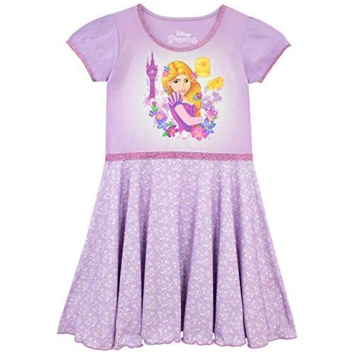 Disney Camicia Da Notte Rapunzel Per Bambine E Ragazze {Viola 4-5 Anni}