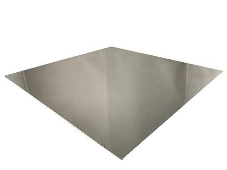 V2A 3/mm 100mm x 100mm 1 Lamiera in acciaio inox K240,/levigata taglio 1.4301