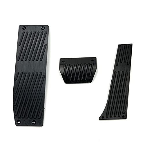 IoenBE Copri Pedali Freno Gas Accessori Auto, Adatti per BMW 3 Serie 5 E30 E32 E34 E36 E38 E39 E46 E87 E90 E91 X5 X3 Z3