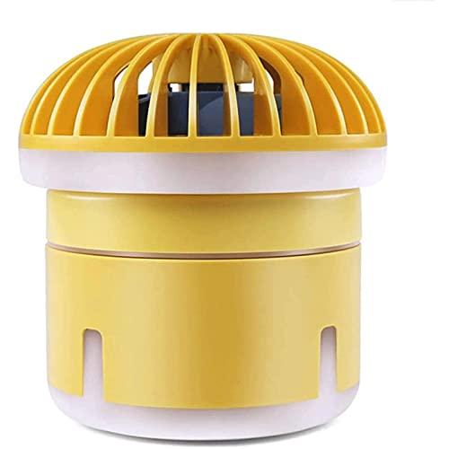 QQW Ventiladores, Mini Ventiladores Portátiles Purizón de Aire de Ventilador de Niebla, Tanque de Agua de 350 Ml, Purificador de Humidificador de Refrigerador de Aire con 3 Velocidades Ajustables Y L