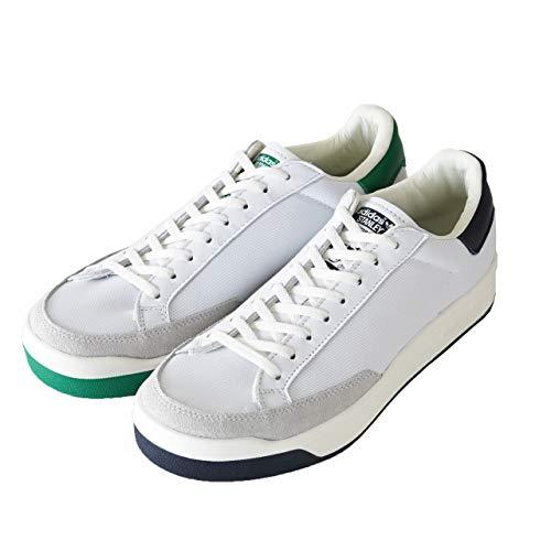 adidas Zapatillas Rod Laver Blanco/Verde/Azul P/E 2021, Verde, 43 1/3 EU