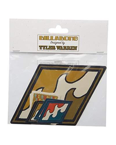 Billabong Men's Tyler Warren Stickers White One Size