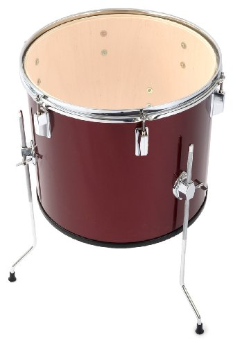 Percussion Plus - Tambor (16 x 14 pulgadas, 35,56 x 35,56 cm