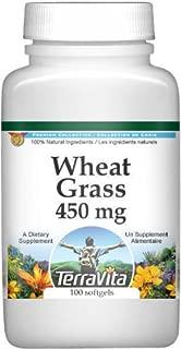 Wheat Grass - 450 mg (100 Capsules, ZIN: 514675)