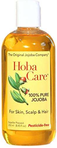The Jojoba Company Pesticide-Free HobaCare Jojoba 8.44 oz. (250 mL) – Pure Jojoba for Face and...