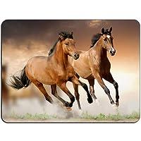 Horse Chestnut Run HB0195マウスマットパッド-マウスパッドマウスパッド