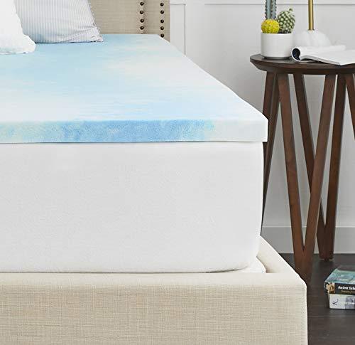 Sealy – Colchón de Espuma viscoelástica, Blanco, Individual, 1