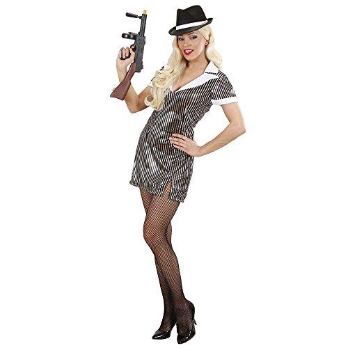 Widmann Adultes Costume Gangster Girl