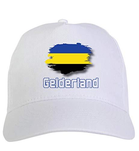 Typolitografie Ghisleri cap wit Gelderland Holland vlag klittenbandsluiting 119