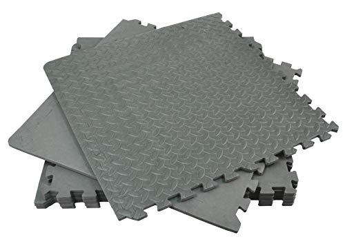 Rolson 60817 Floor Mat Set, 120 x 180 cm - 6 Pieces