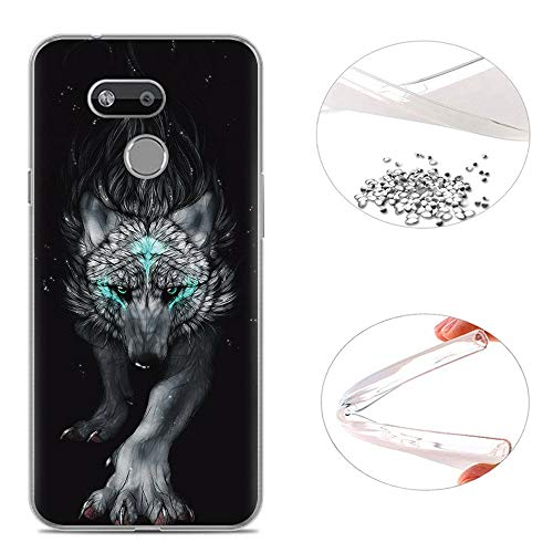 AioiA Hülle für HTC Desire 12S,TPU Schutzhülle Case Silikon für HTC Desire 12S
