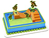 DecoPac Cake Decorating Teenage Mutant Ninja Turtles TMNT-RISE UP! Cake Topper for Birthdays and Parties