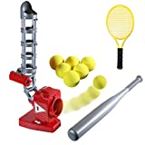 Ball Pitching Game Machines – Baseball & Tennis Training for Kids – Active Outdoor Sports Gaming...