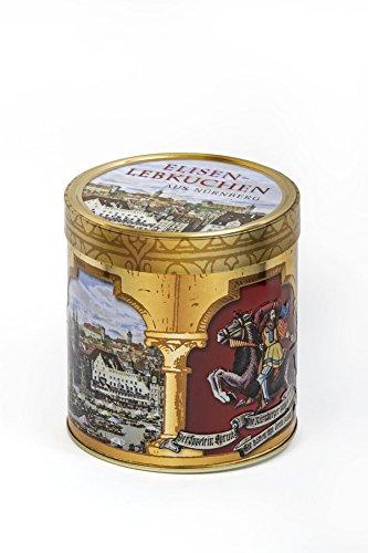 Nürnberger Bio Originale Geschenkdose mit Nürnberger Elisen-Lebkuchen g.g.A. (350 g) - Bio