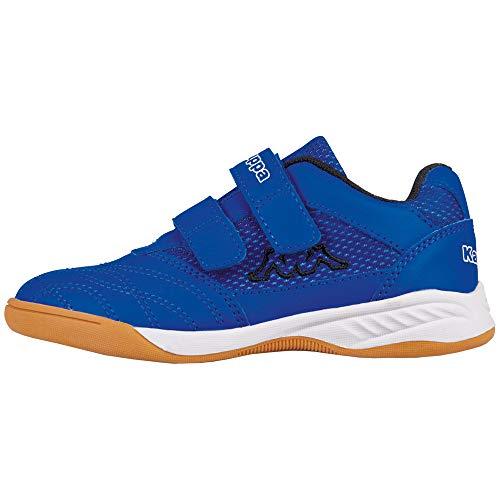Kappa Unisex-Kinder Kickoff Multisport Indoor Schuhe, Blau (Blue/Black 6011), 31 EU