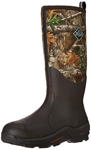 Muck Boot mens Woody Max Industrial Boot, Brown/Real Tree Edge, 10 US