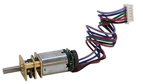 90 RPM Micro Gearmotor w/Encoder