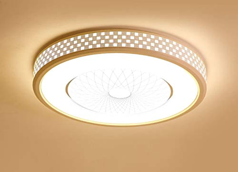 Lámpara de techo LED rojoonda Lámpara de sala Lámpara de dormitorio Lámpara de habitación Luz blancoa diámetro 40 cm Altura 10 cm