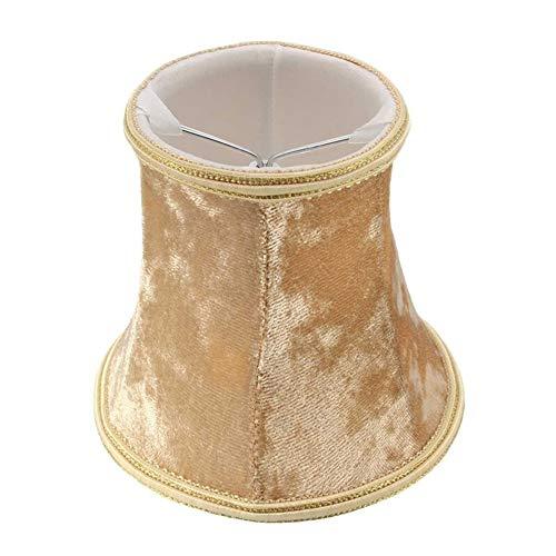 ASVNDD Luz Pendiente Multicolor de la lámpara de Pared Colgantes Pantallas de iluminación de la lámpara Moderna Sombras Lint Cubierta de la lámpara for el Dormitorio de la Sala (Body Color : Gold)