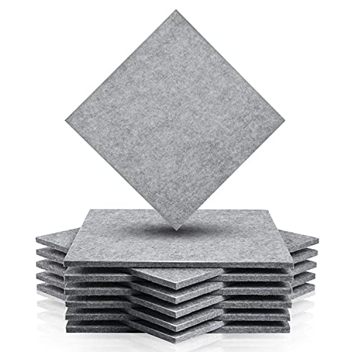 12 Pack Grey Acousic Absorption Panel