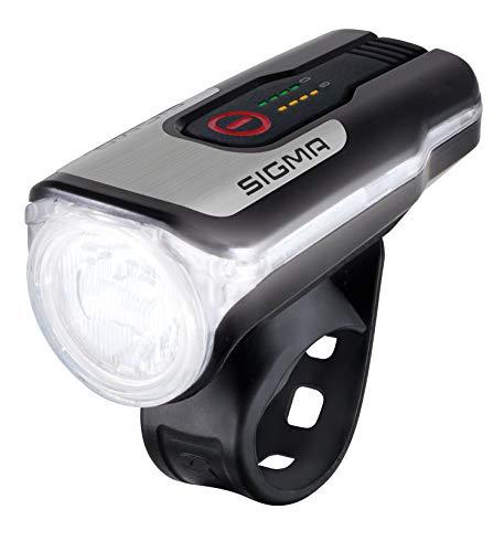 SIGMA SPORT - Aura 80 | LED Fahrradlicht 80 Lux | StVZO zugelassenes, akkubetriebenes Vorderlicht