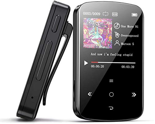 DONEST 32GB Clip MP3 Player with Bluetooth