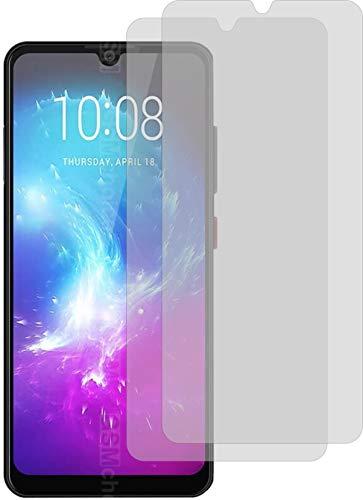 4ProTec I 2X Crystal Clear klar Schutzfolie für ZTE Blade A7 2019 Bildschirmschutzfolie Displayschutzfolie Schutzhülle Bildschirmschutz Bildschirmfolie Folie