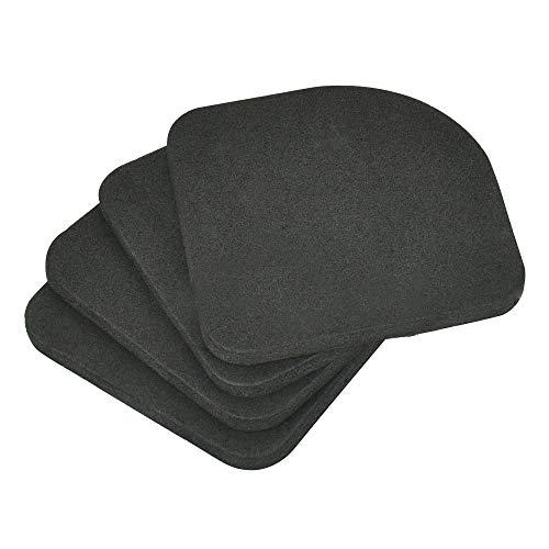 SNAGAROG - 20 almohadillas universales antivibración para lavadora de goma EVA, antideslizantes, para reducir el ruido, para secadora, refrigeradora, caminadora, accesorio