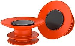 Macks Waterproof Reusable KIDS Learn to Swim Ear Plugs silicone 6 PAIRS Orange