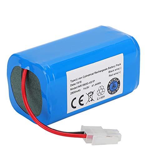 Yivibe Batería de vacío, batería, Azul Voltaje de 14,8 V sin Efecto de Memoria para Ilife A4 A4S A6 V7 Robot BMS System Robot Aspirador