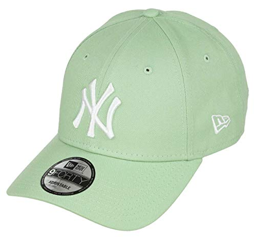 New Era York Yankees 9forty Adjustable Cap Solid Back Hit Green - One-Size