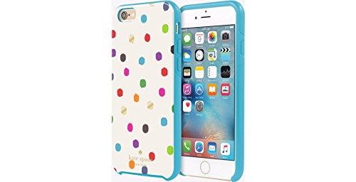 Kate Spade New York Hybrid Hardshell Case for iPhone 6/6s - Ikat Dot Design